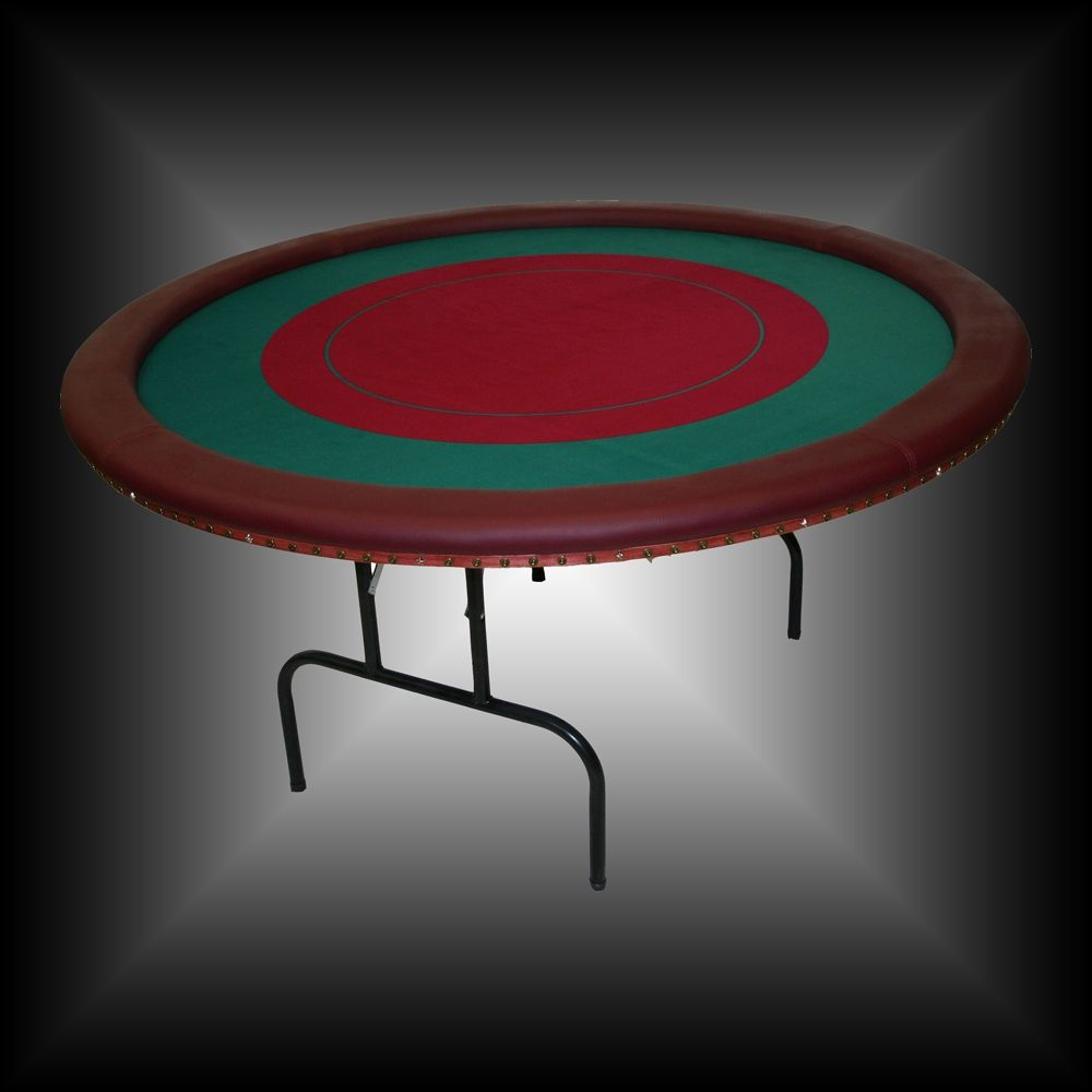 60 Round Folding Poker Table Top
