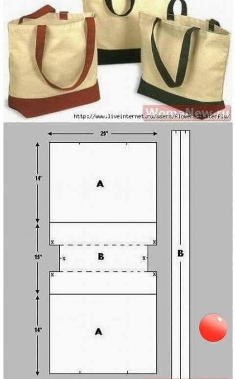 Pin de Samaria en Cartera   Pinterest   Bolso tejido, Costura y ...
