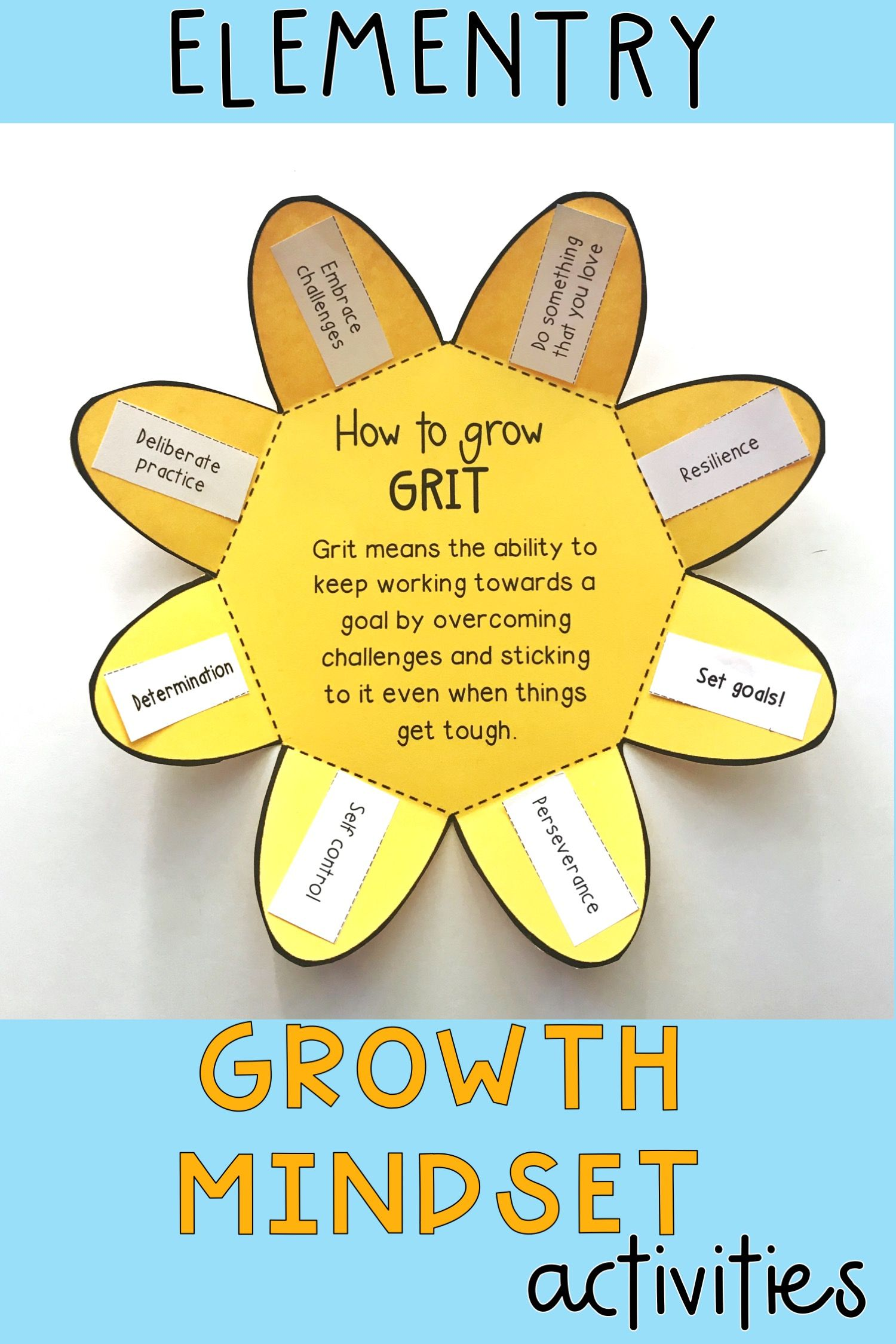 This Bundle Is Filled With Fixed Vs Growth Mindset