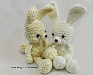 Crochet Amigurumi Bunny Tutorial : Amigurumi Bunny - FREE Crochet Pattern / Tutorial FREE ...