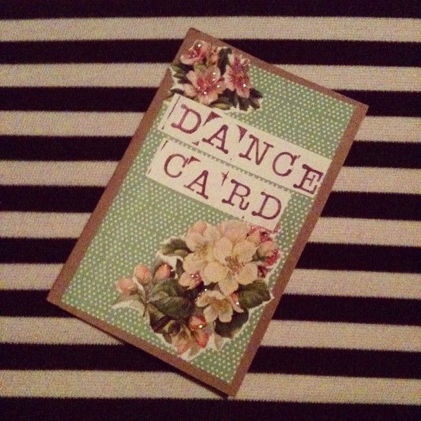 Made These Little Dance Cards For A Swing Partyjust -6122