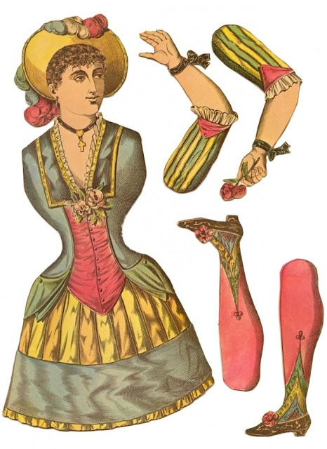 TO DIY OR NOT TO DIY: VINTAGE PAPER DOLL