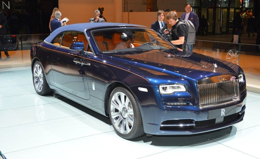 Sun Up Top Down Rolls Royce Dawn Unveiled Photo Gallery Of Auto Show News From Car And Driver Images