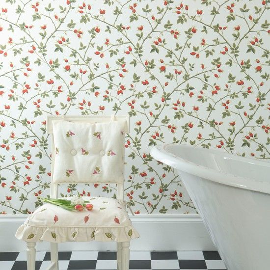 Country Cottage Wallpaper Google Search The Stables Clovelly Pinterest Bathroom