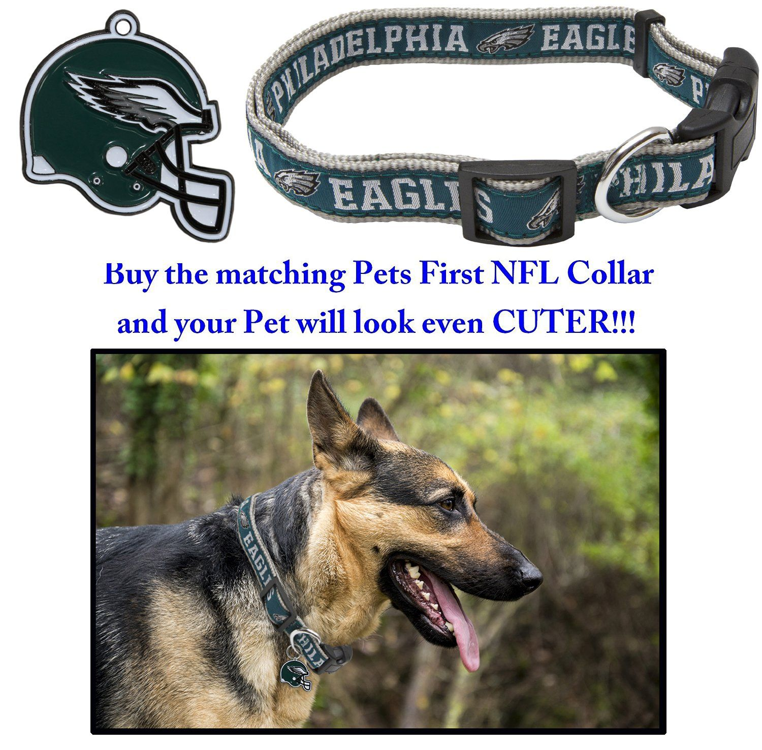 competitive price d3fe3 1b8e9 NFL DOG TAG PHILADELPHIA EAGLES Smart Pet TRACKING Tag. Best ...