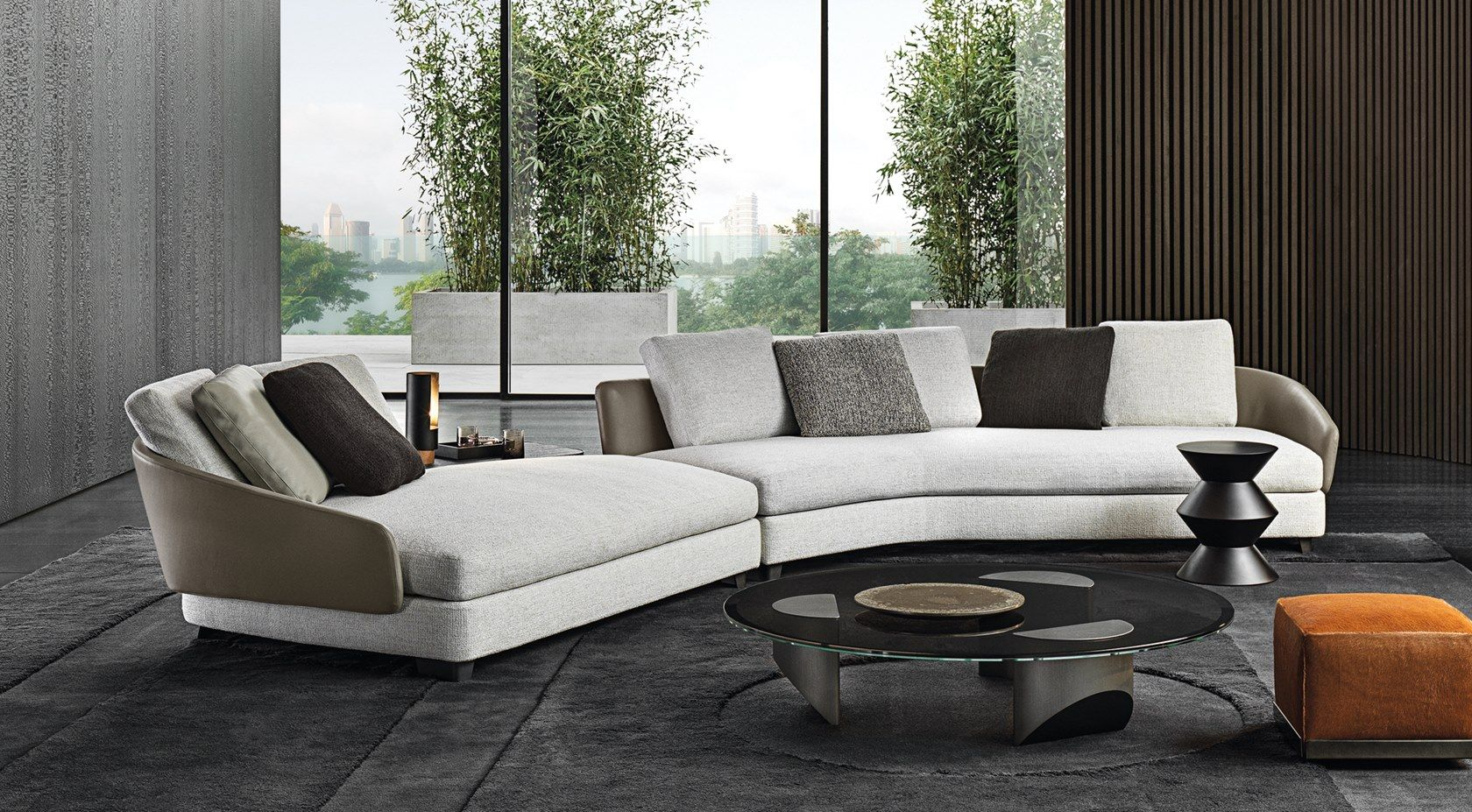 Lawson Sectional Sofa By Minotti Sectional Sofa Minotti Sofa Minotti