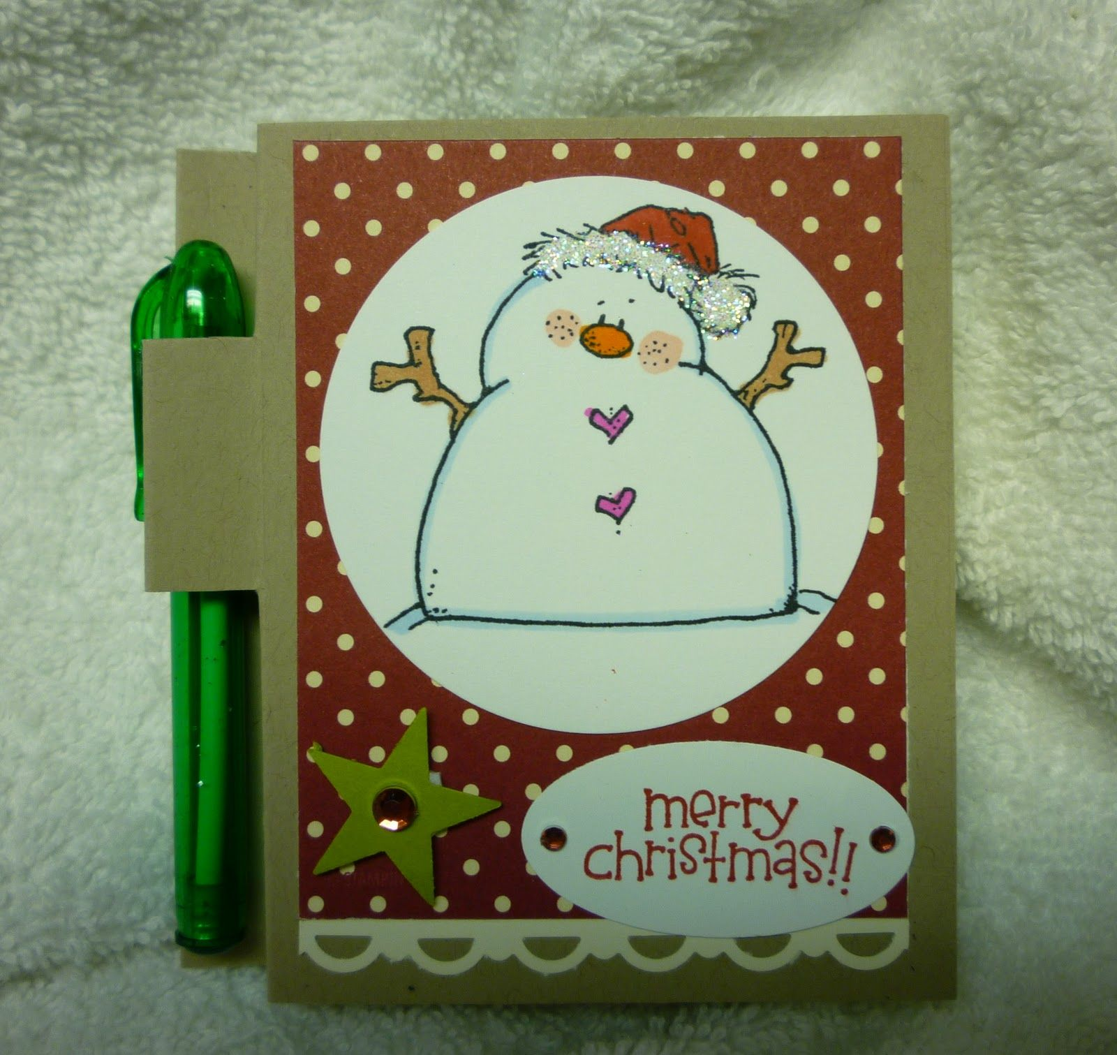 Big Ideas 2: Holiday post-it-note holders