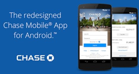 JP Chase now supports Android fingerprint