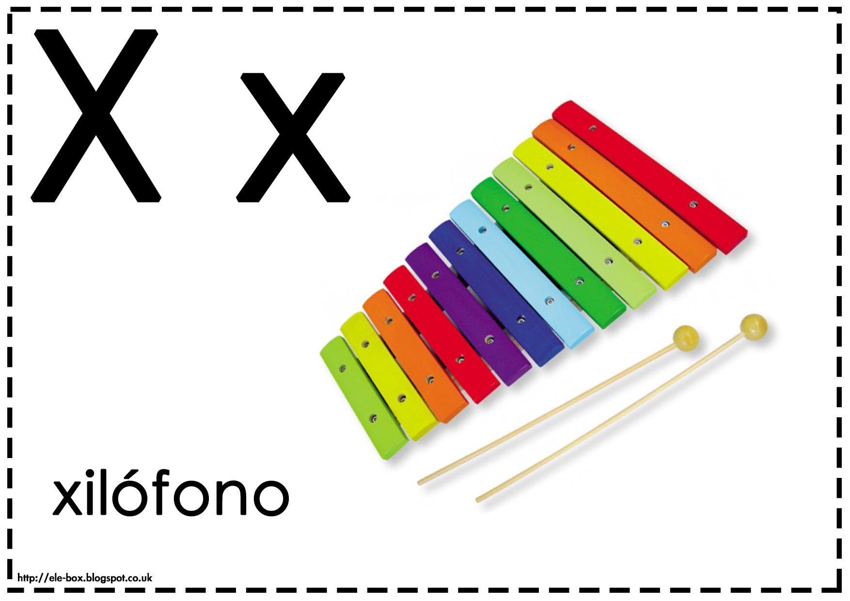Asociamos Los Sonidos Con Las Grafías Convencionales Letra X Alphabet Abc Quiet Book