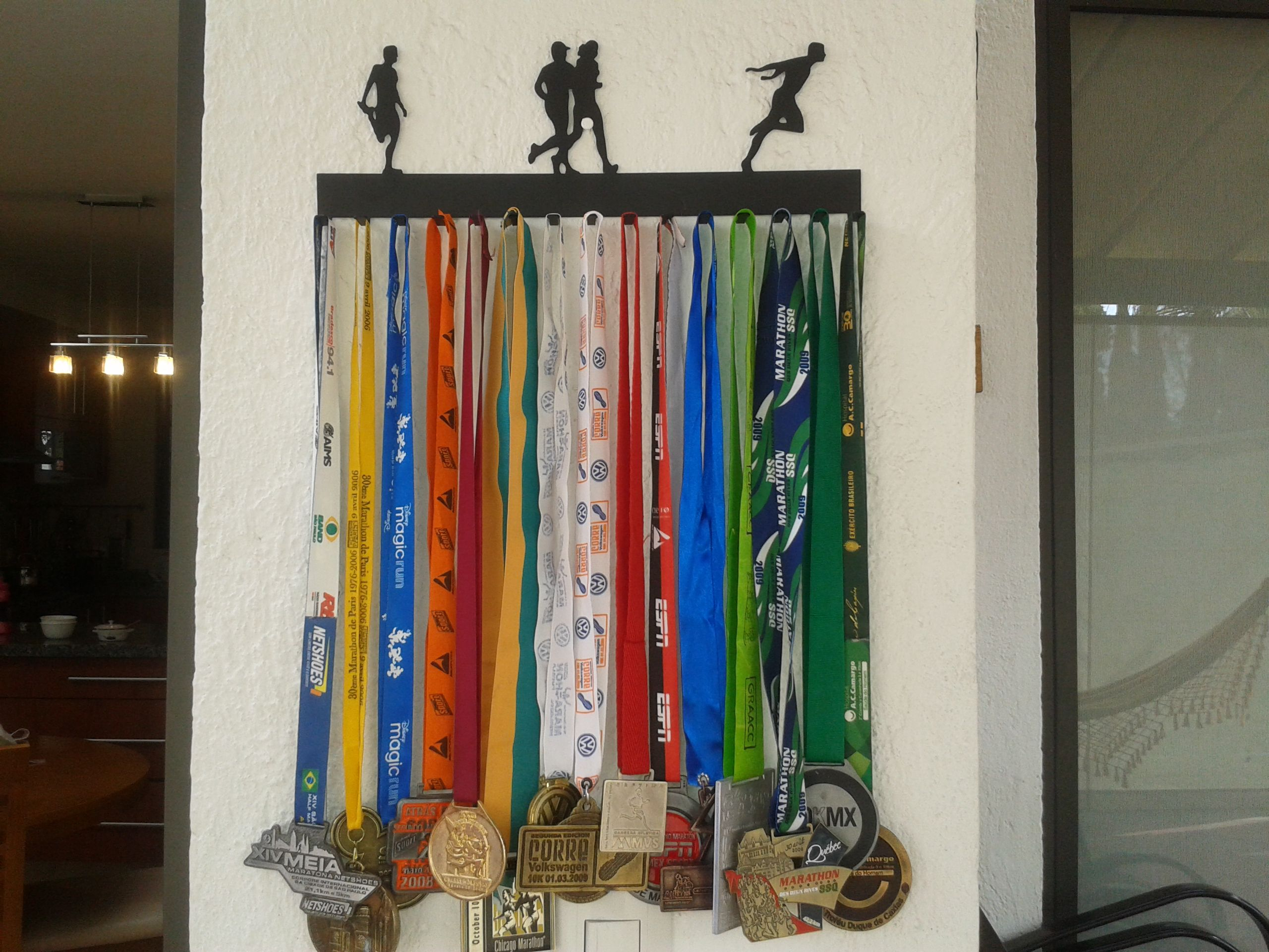 porta medallas corredor running pinterest corredores