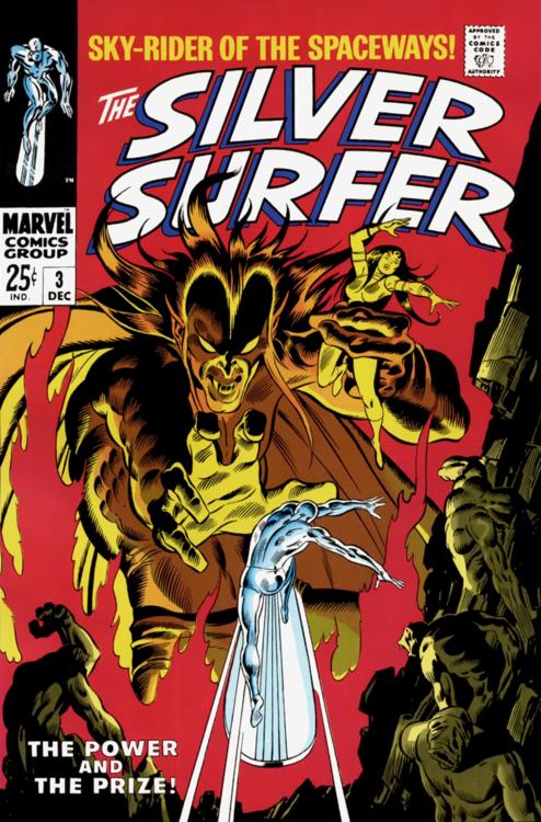 Silver Surfer #3 by John Buscema