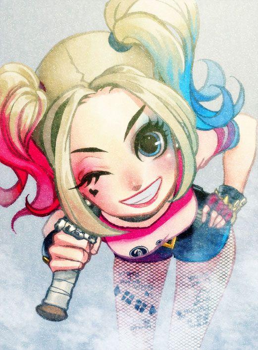 Harley Quinn by y-u-k-i-k-o.deviantart.com on @DeviantArt | súper ...