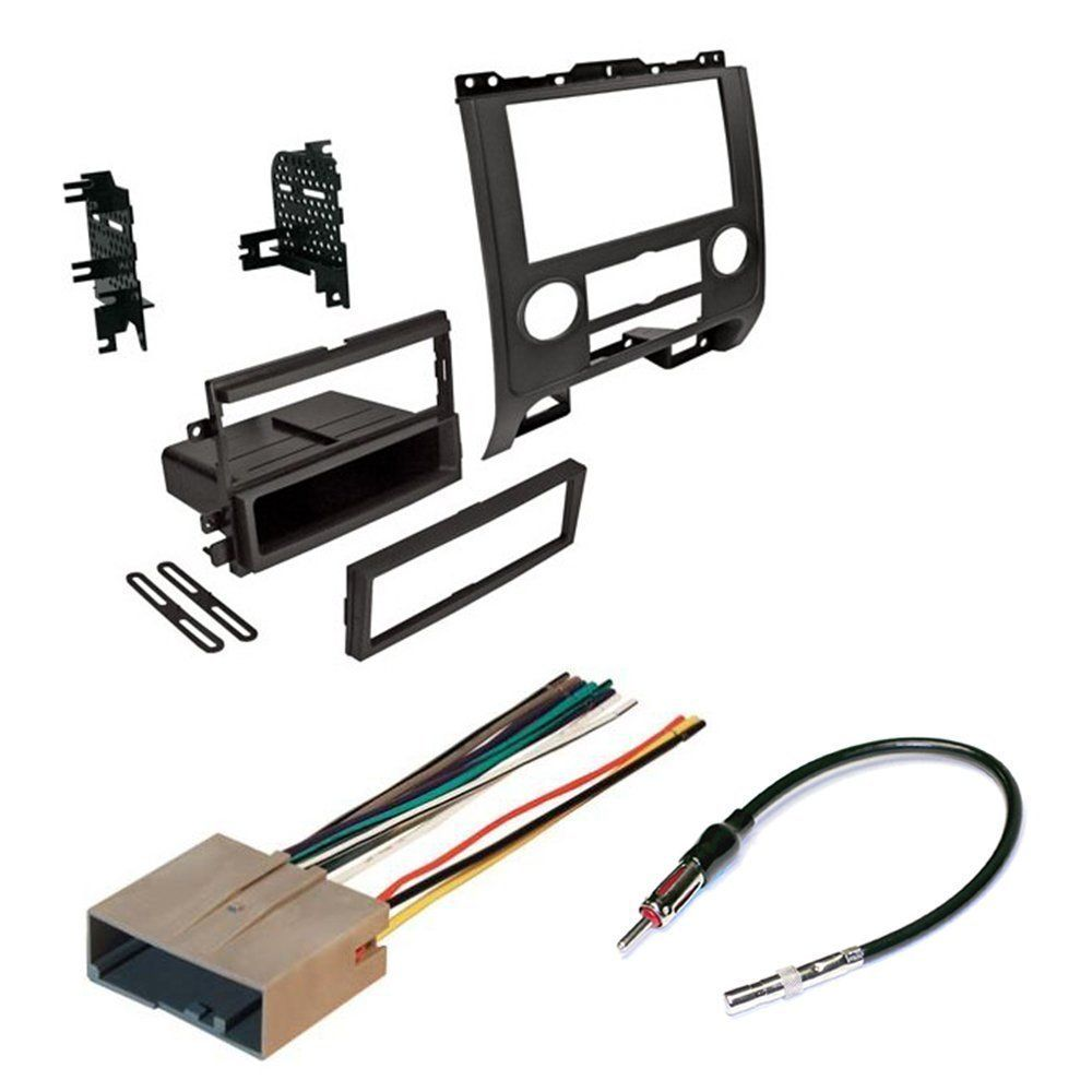 Ford Wiring Harness Kits Audio Expert Schematics Diagram For Car 2008 2012 Escape Radio Stereo Kit Dash Installation Street Rod