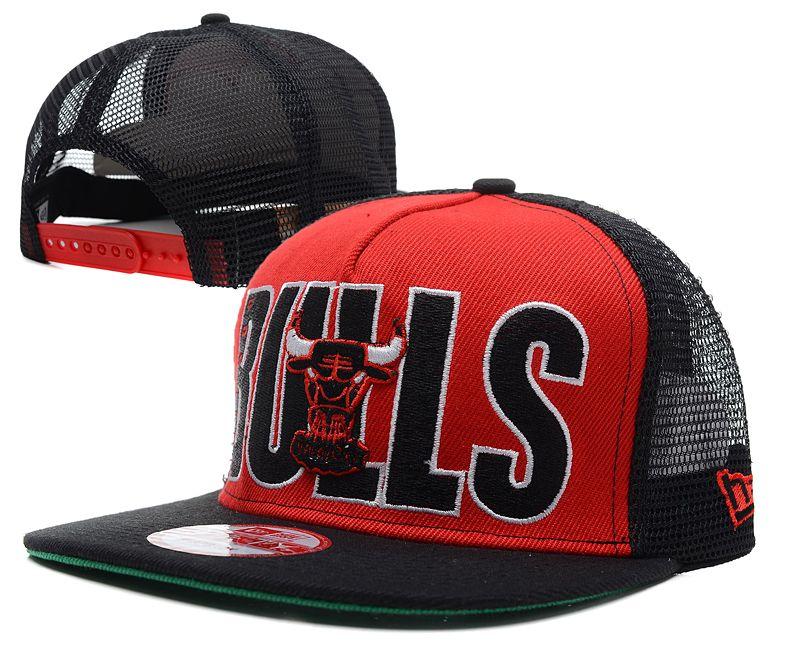 NBA Chicago Bulls NE Trucker Hat 01  8c00c1bf4d4