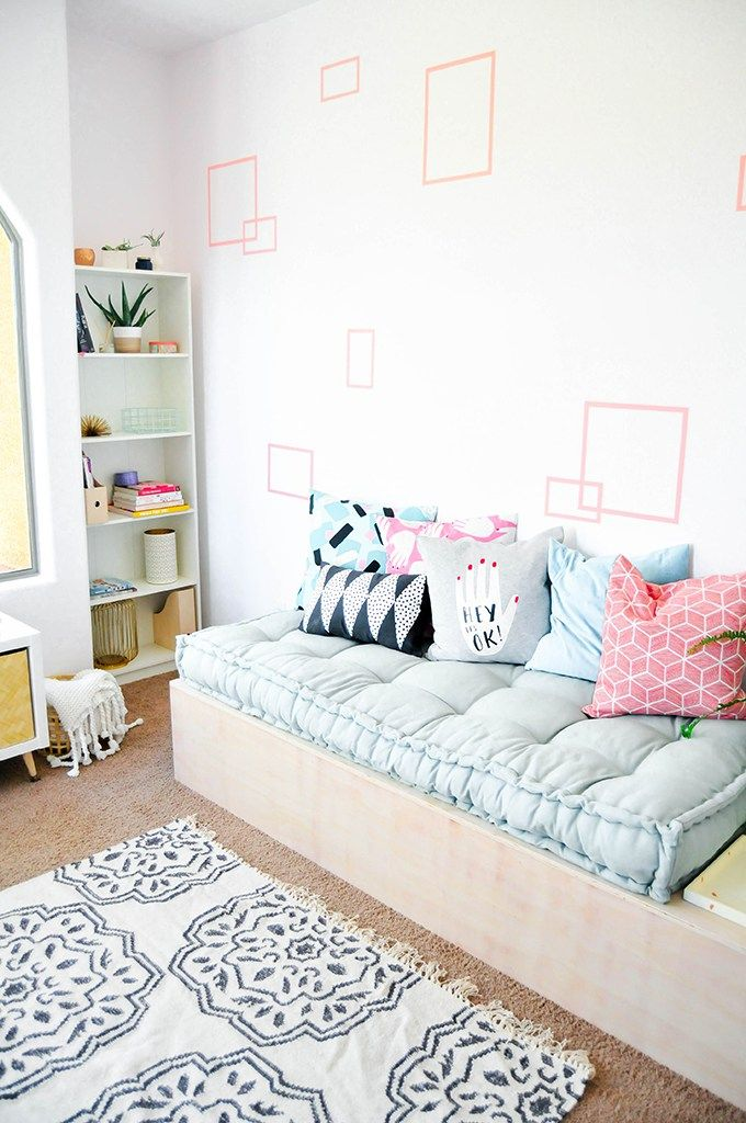 Make It Diy Minimalist Daybed With Storage Daybed With Storage Diy Daybed Daybed