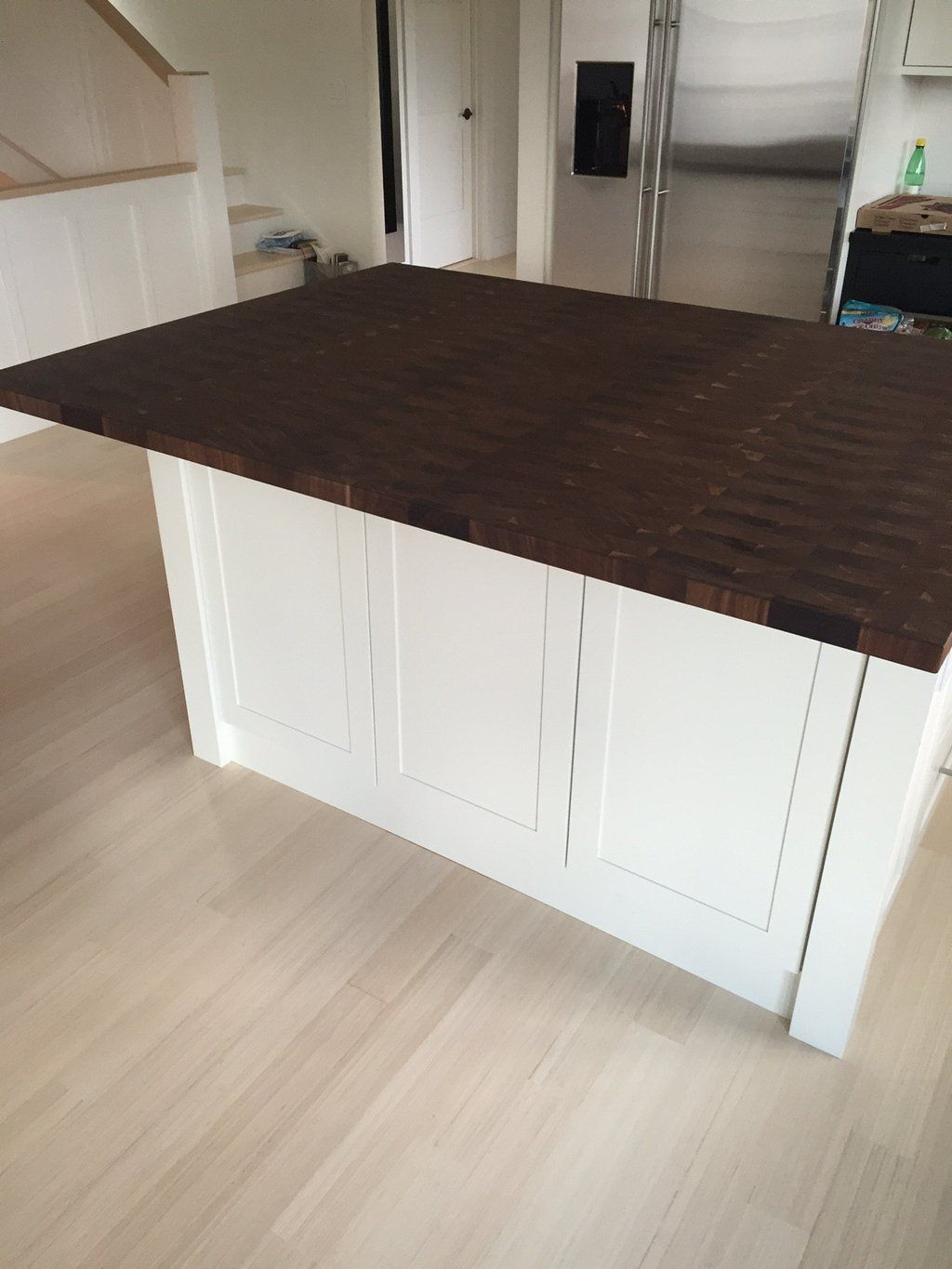 Custom End Grain Walnut Countertop Walnut Countertop