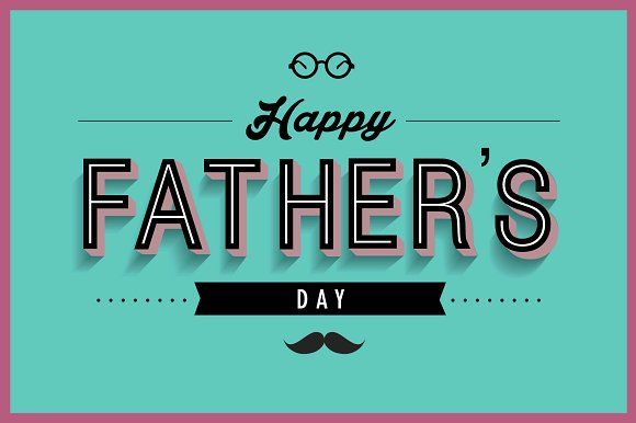 father's day greeting card template by lyeyee on @creativemarket