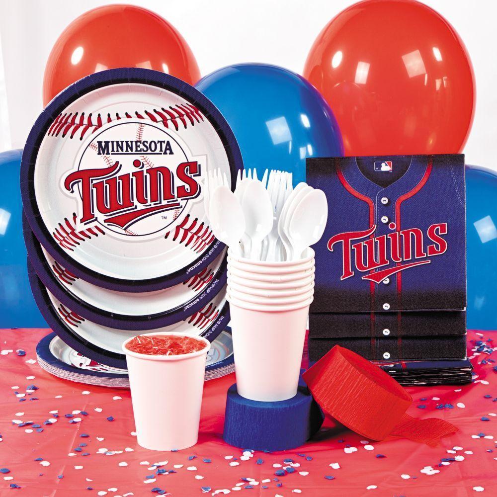 MLBR Minnesota TwinsTM Basic Party Pack