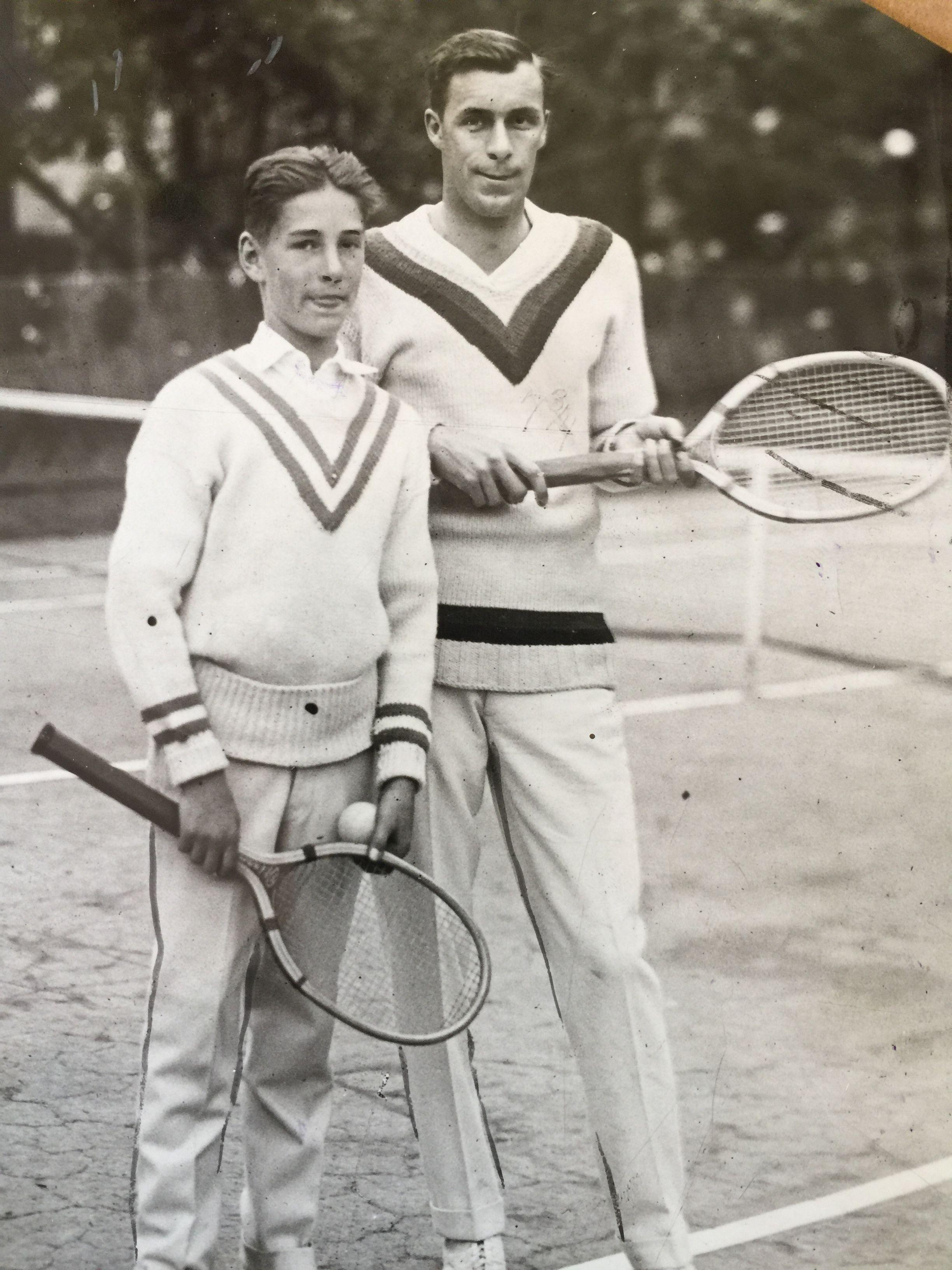 Tennis star Bill Tilden pictured in this vintage 1923 photo