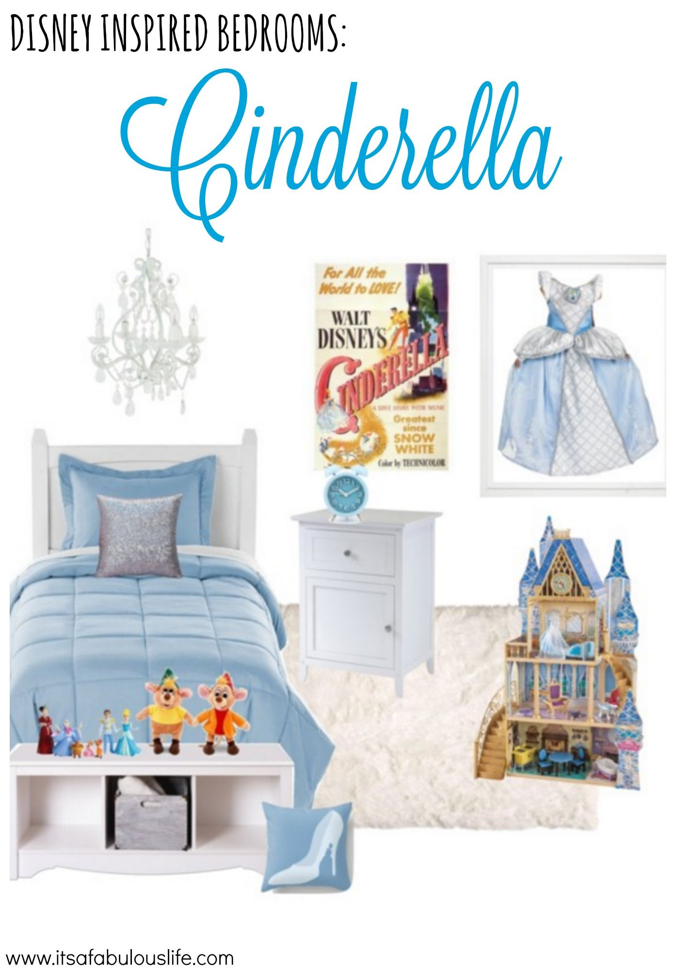 Disney Princess Bedroom Decorating Ideas Cinderella Bedroom