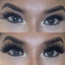 e44d7000f5d Amazon.com : Arimika 3D Long Thick Dramatic Looking Handmade Mink Fur False  Eyelashes For Makeup 1 Pair Pack : Beauty