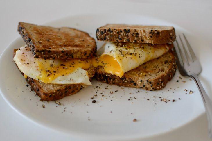 Easy fried egg sandwich recipe yummly recipe fried