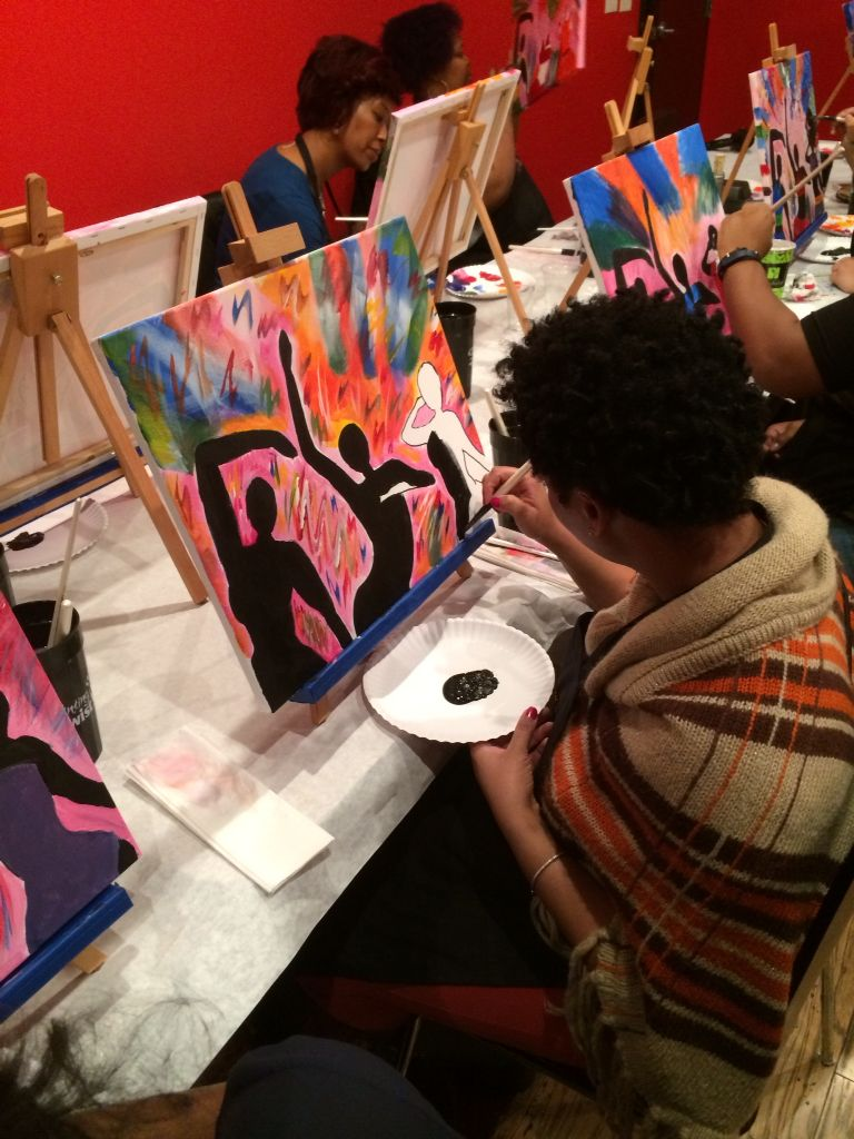Dancing Divas Painting With A Twist Atlanta Buckhead Ga Pwat