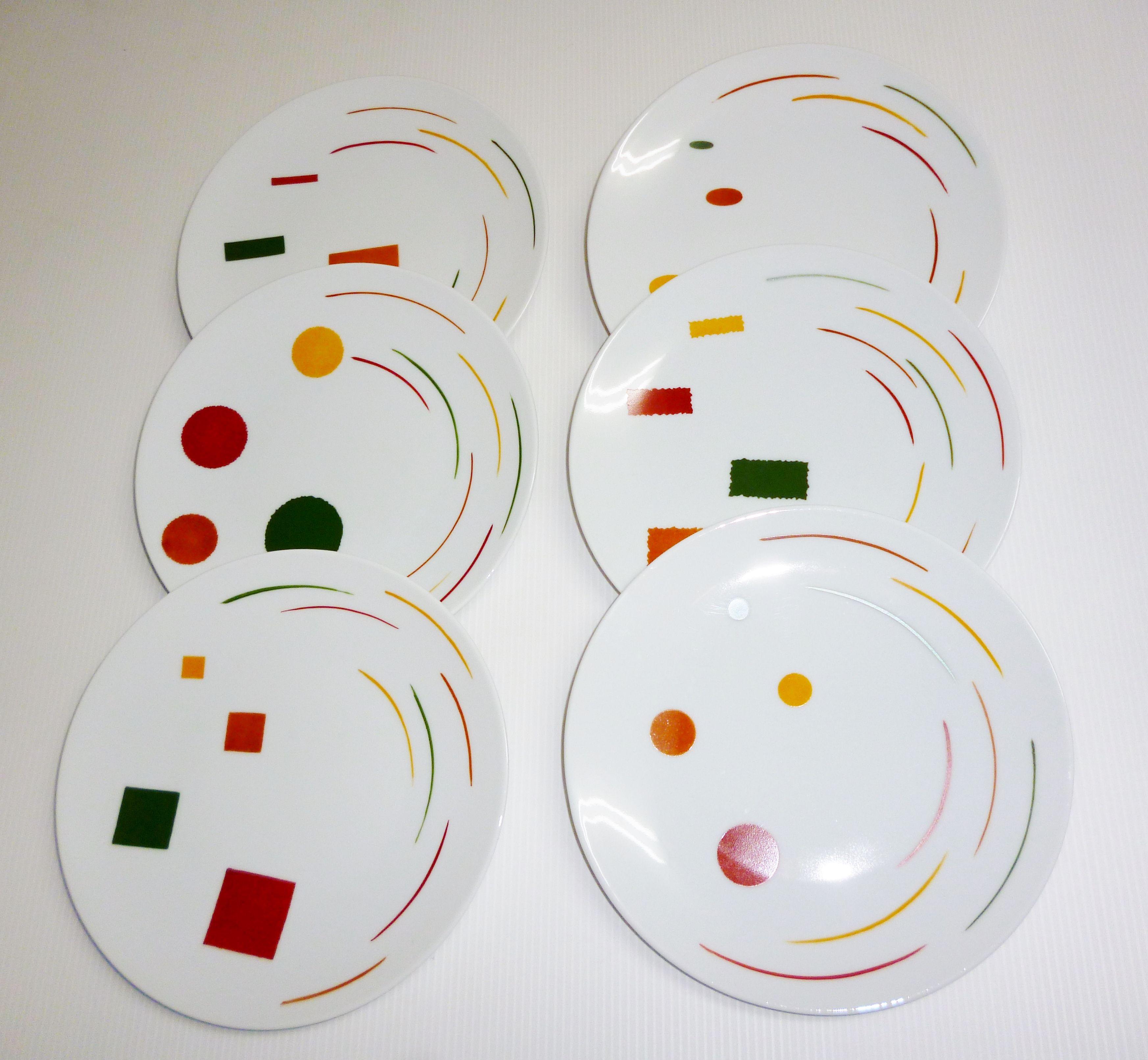 Cr ations atelier 714 peinture porcelaine montpellier assiettes atelier714 peinture sur - Art de la table montpellier ...