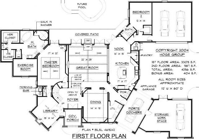 english country home house plans