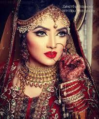 Image Result For Bengali Bridal Makeup Wallpapers Pakistani Bridal Makeup Indian Bridal Wear Bridal Wear
