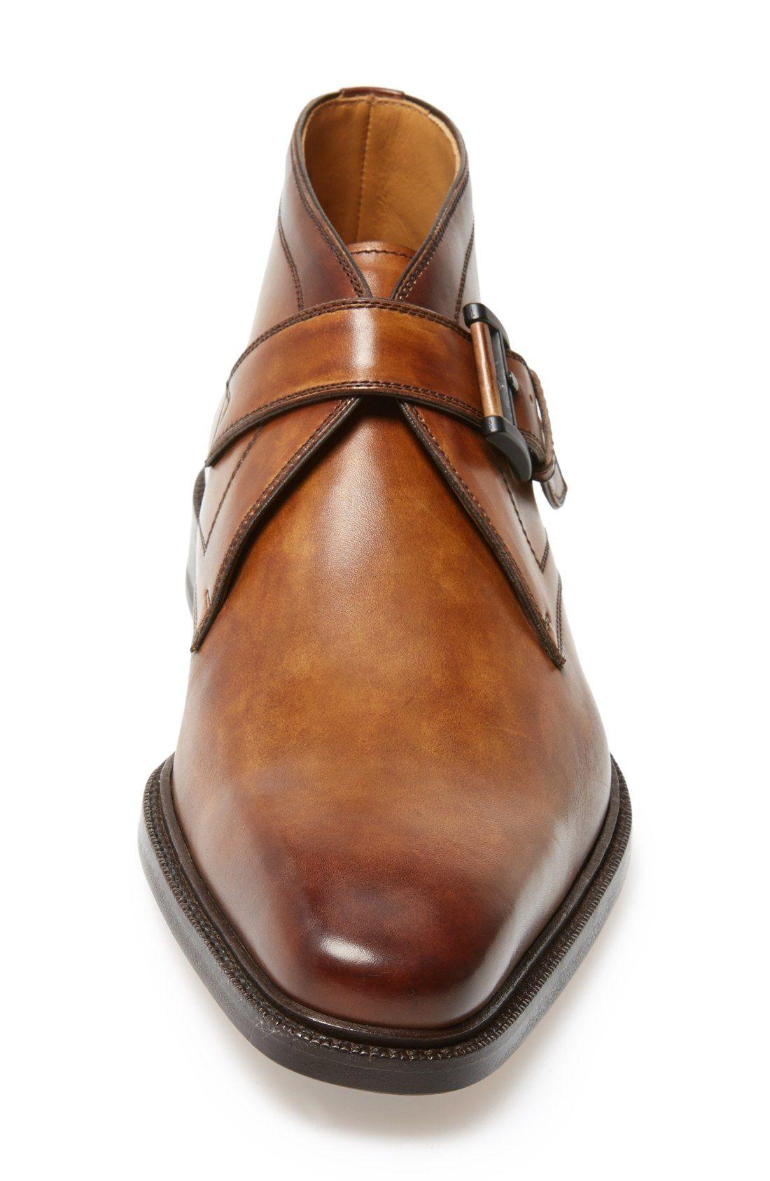 2430385413f Magnanni  Raiden  Monk Strap Chukka Boot (Men)