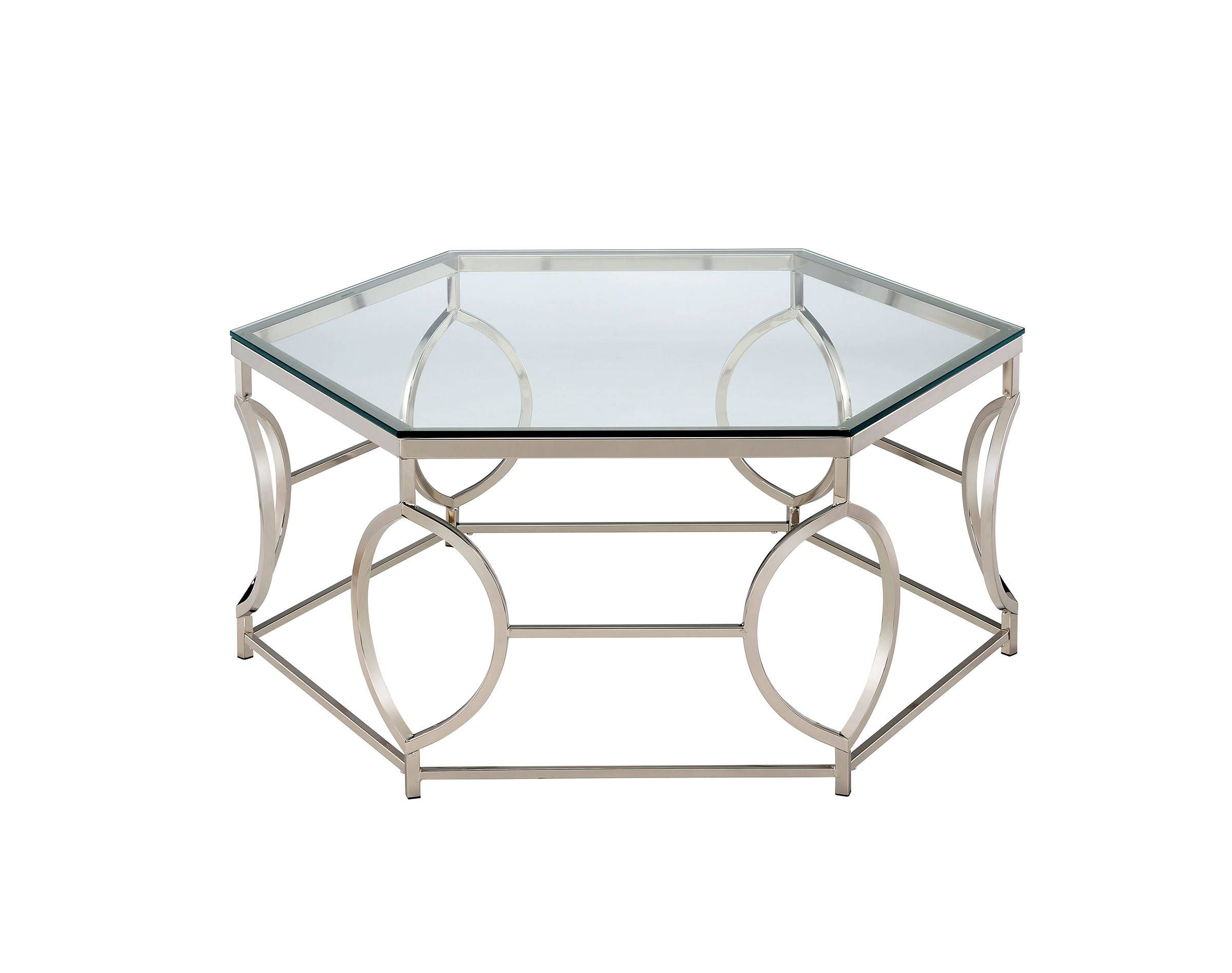 Furniture Of America Zola Coffee Table Hexagon Coffee Table Glass Top Coffee Table Coffee Table [ 1896 x 2400 Pixel ]