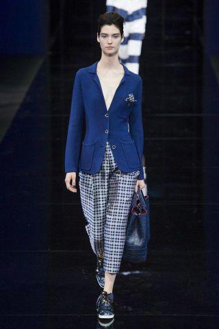 Emporio Armani Spring 2015 Ready-to-Wear - Emporio Armani Ready-to-Wear Collection