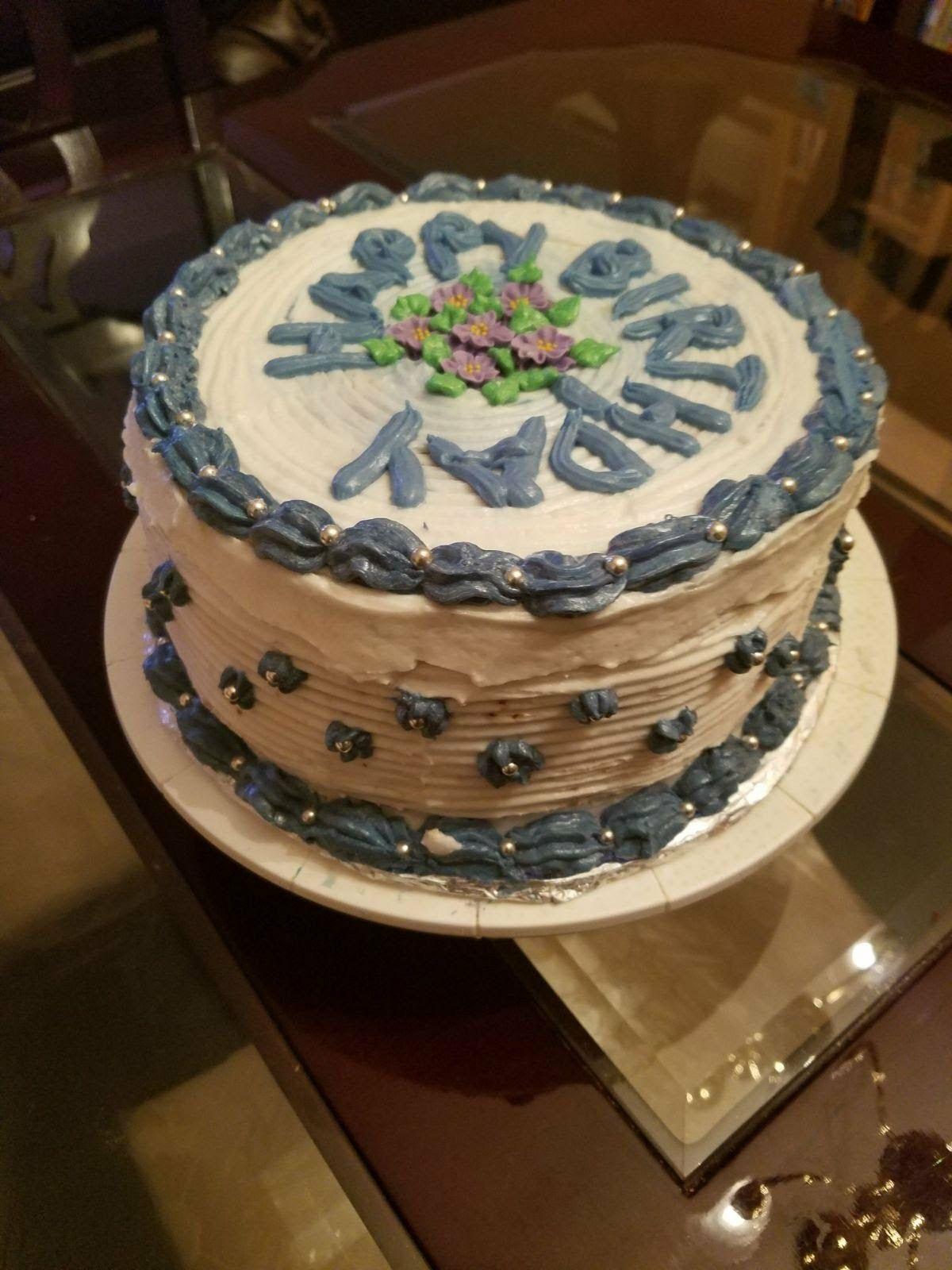 Amazing Non Dairy Birthday Cake With Images Vegan Wedding Cake Cake Personalised Birthday Cards Paralily Jamesorg