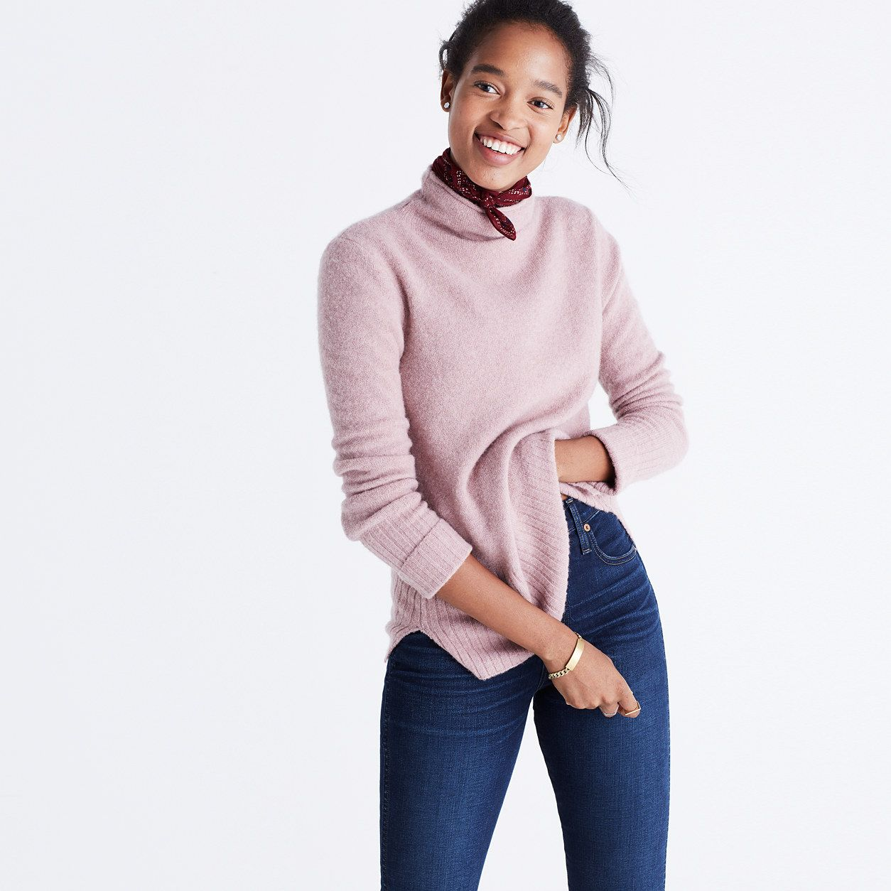 Inland Turtleneck Sweater : sweaters - Gifts for her / Madewell ...