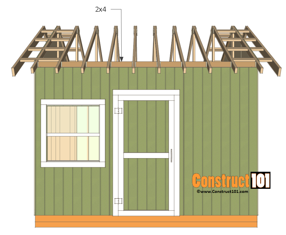 12x12 Shed Plans Gable Shed Shed Plans Building A Shed Shed House Plans