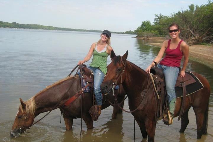At The lake!