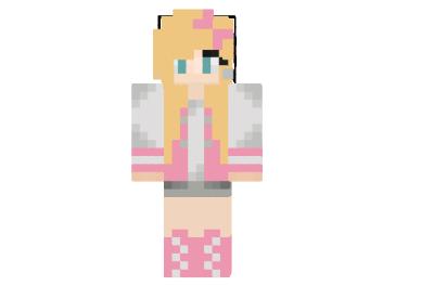 Summer dress minecraft skin 3 person