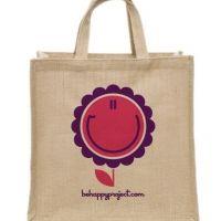 Be Happy - Juta Bag