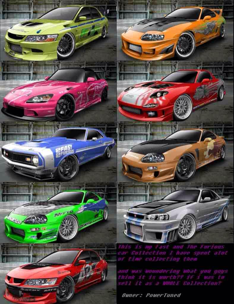 The Fast And The Furious Cars Tuner cars, Cars movie, Cars