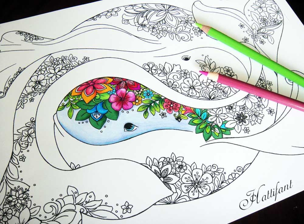 Amazing Ocean Coloring Pages | Ocean colors, Adult coloring and ...