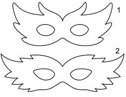 resultado de imagem para molde de mascara de galinha para imprimir