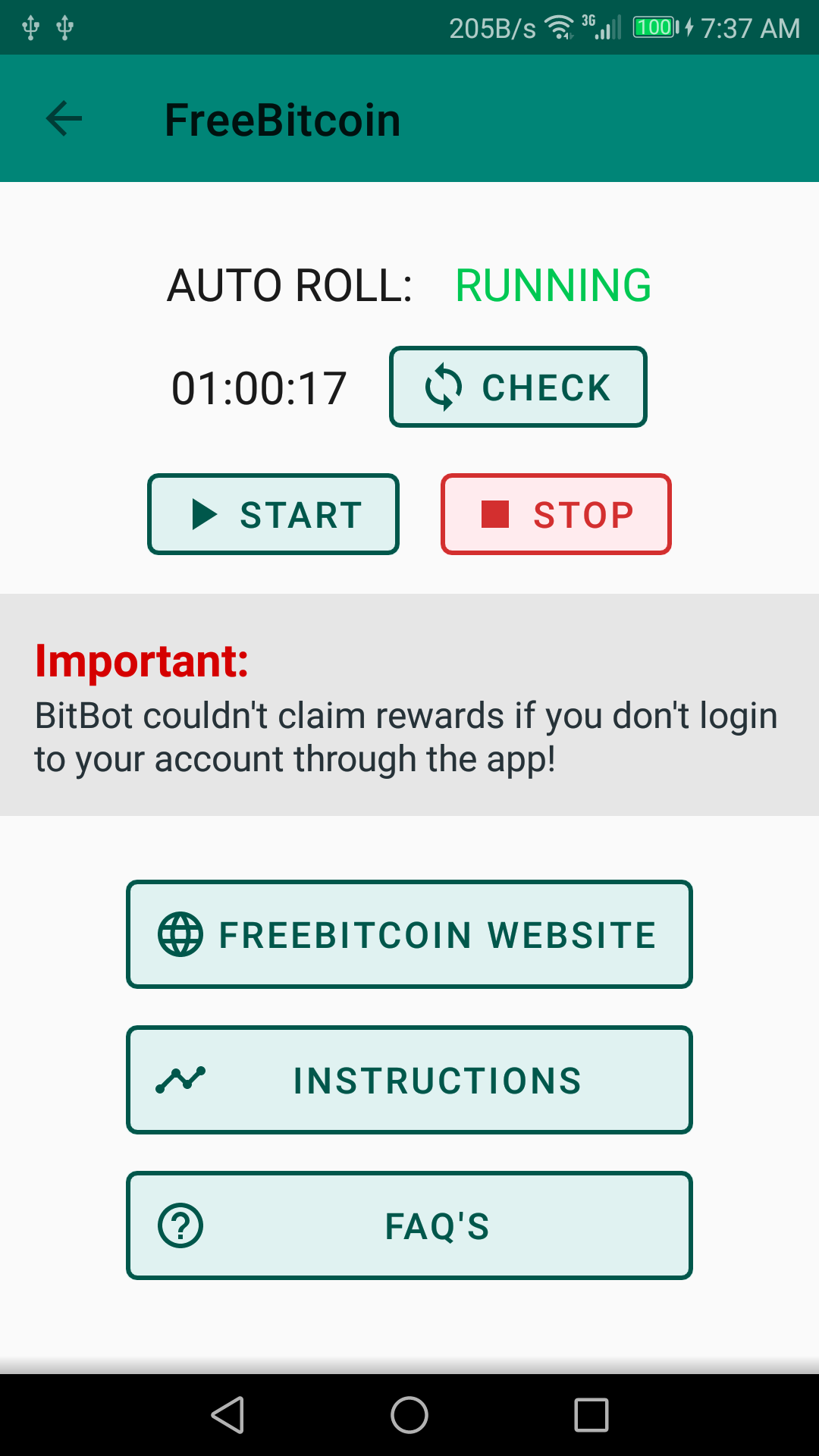 freebitcoin auto roll scottrade galimybių lygiai