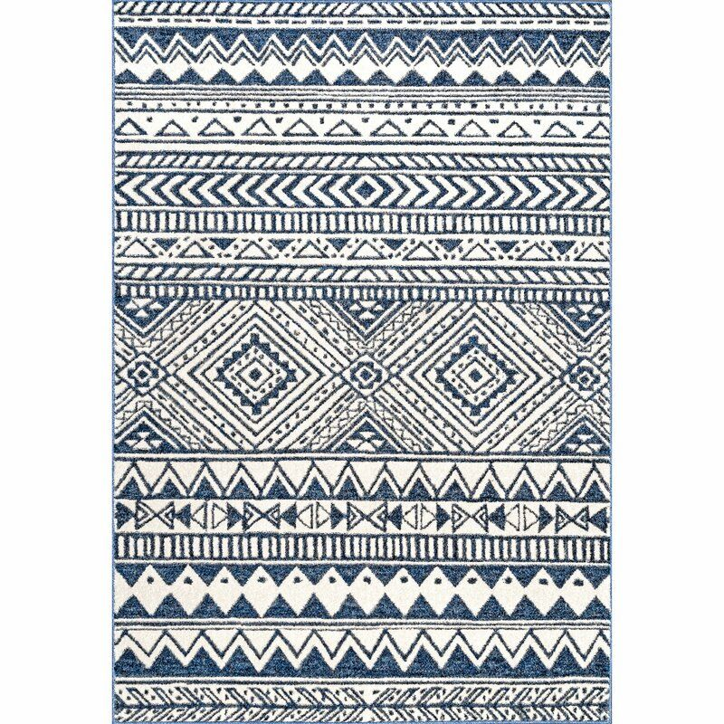 Bayview Navy Area Rug In 2021 Area Rugs Geometric Area Rug Navy Area Rug