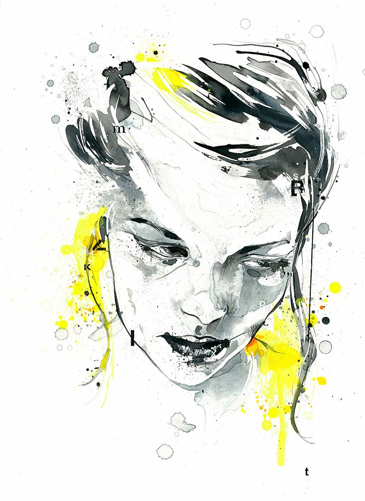 Ink on paper / Ben Tour | Painting and Drawing | Pinterest ...