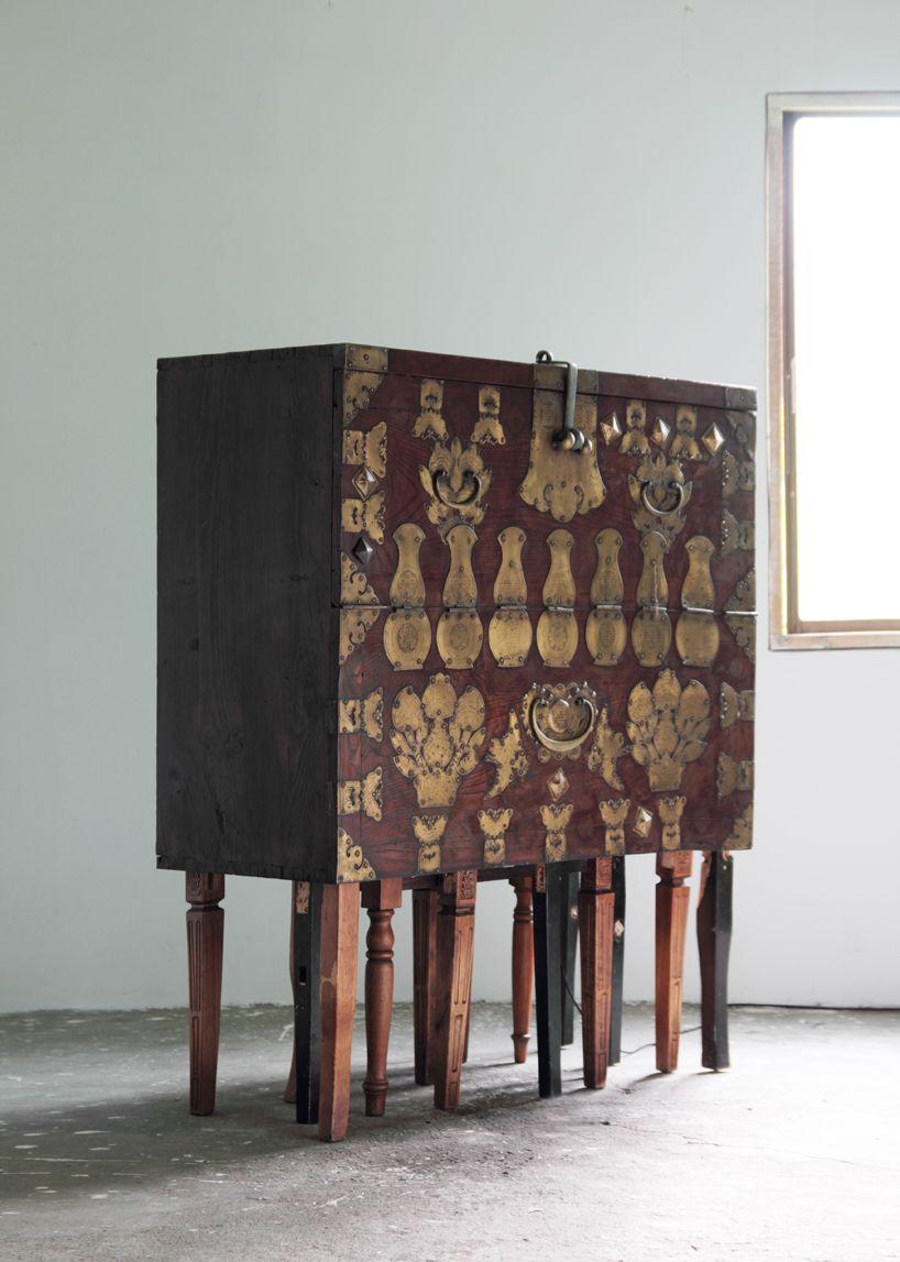 fortuitous variation traditional korean furniture reinterpreted by maezm