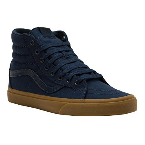 Vans SK8 HI REISSUE (CANVAS GUM) mens skateboarding shoes