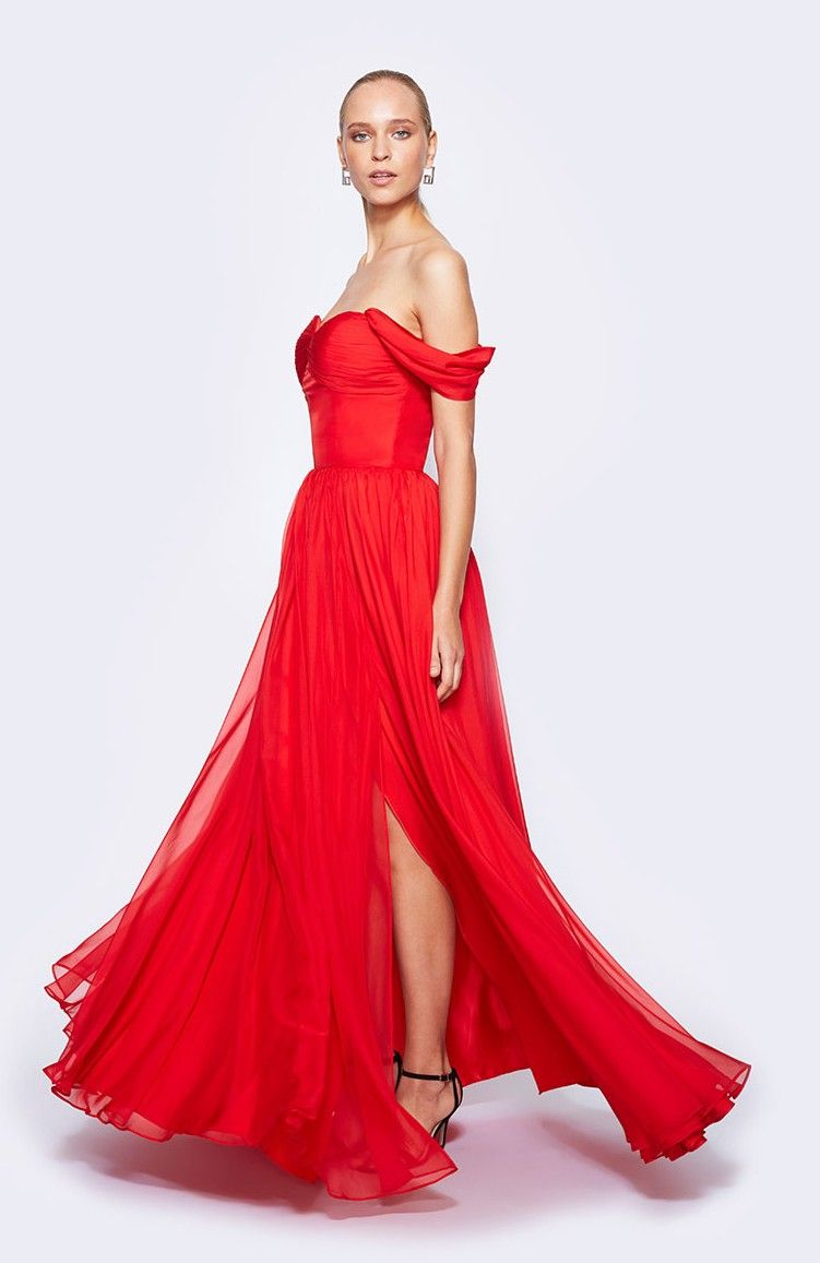 Classic Hollywood Glamour 1950s Vintage Style Prom Dresses Hot Red ...