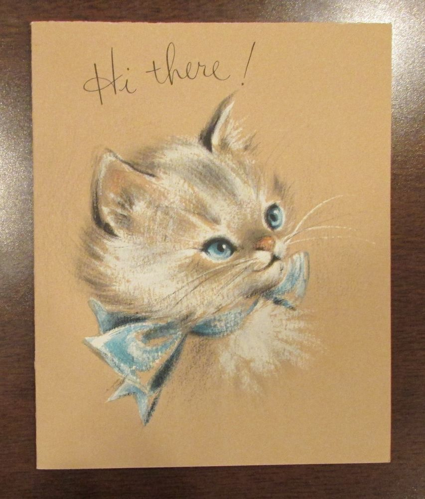 Pin On Kitty Cats Cards