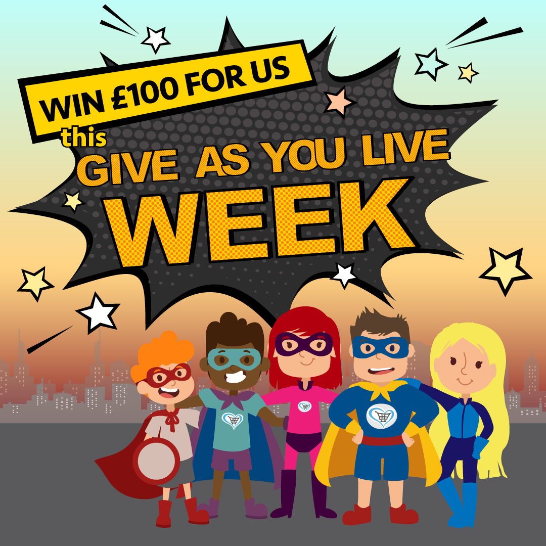 Help win £100 for a good cause, just by shopping online with Give as You Live.  They're giving you the chance to win a £100 donation for your favourite charity! Simply raise 50p at any Give as you Live Online retailer before midnight on Sunday 18 August & you'll be in the hat to win 🤞 It costs you nothing except a few extra taps/clicks - thank you for your support 🙏😀 #giveasyoulive #fundraising #tera-charity #donate #charitablegiving #goodcause